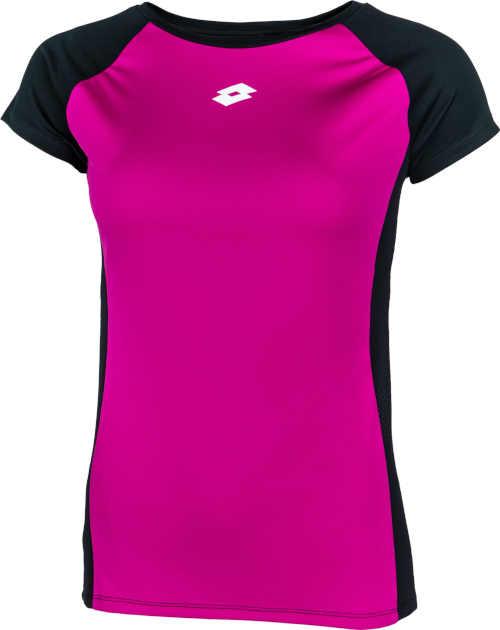 Fekete és rózsaszín sportpóló