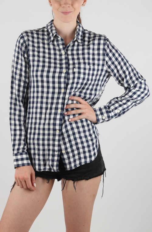 Fekete-fehér Levi's ing kis kockával