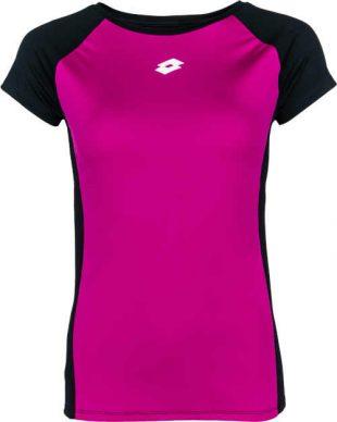 Női fitness póló modern szabású, funkcionális anyagból készült női póló