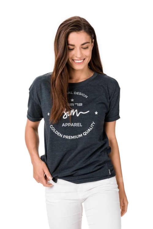 Női modern ing laza szabással és nyomtatással