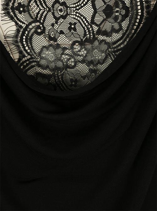 Fekete luxus csipke