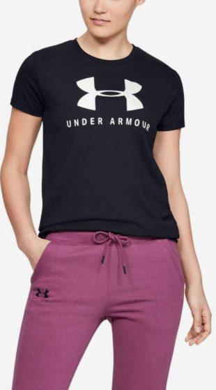 Fekete sport póló Under Armour Graphic